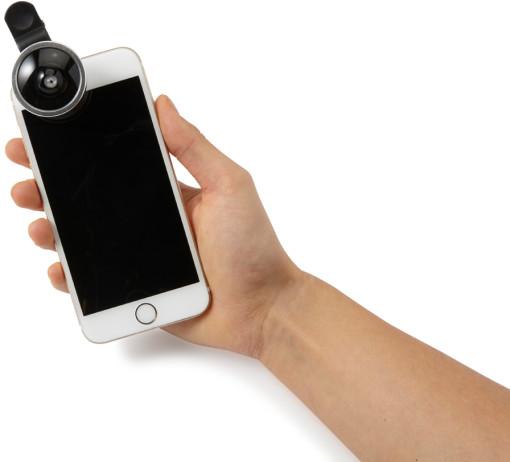 Relatiegeschenk Smartphone Lenzenset [2st] bedrukken