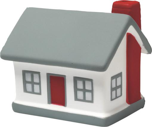 Relatiegeschenk Anti-stress figuur Huis bedrukken