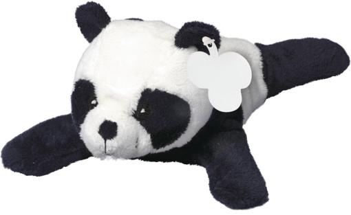 Relatiegeschenk Pluche pandabeer bedrukken