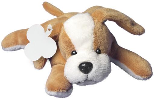 Relatiegeschenk Pluche hond bedrukken