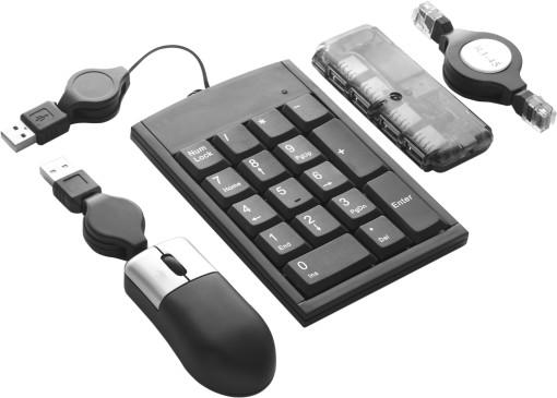 Relatiegeschenk 4-Delige laptopset bedrukken