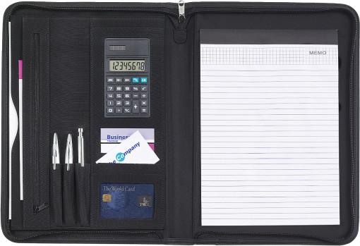 Relatiegeschenk Microfibre A4 schrijfmap bedrukken