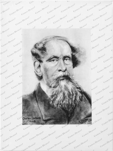 Relatiegeschenk Charles Dickens Portfolio bedrukken