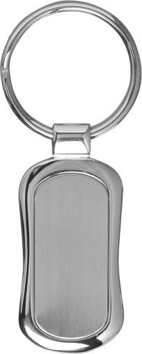 Relatiegeschenk Metalen sleutelhanger