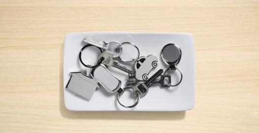 Relatiegeschenk Metalen sleutelhanger bedrukken