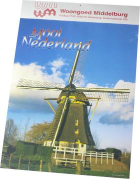 Relatiegeschenk Kalender Mooi Nederland