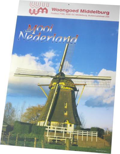 Relatiegeschenk Kalender Mooi Nederland bedrukken