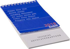 Relatiegeschenk Omslagkalender Desk