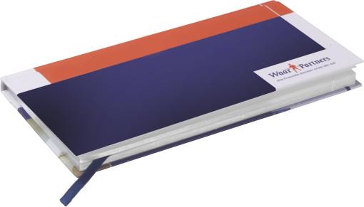 Relatiegeschenk Custom - made full-colour print pointer zakagenda bedrukken