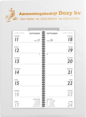 Relatiegeschenk Omlegweekkalender Kunststof