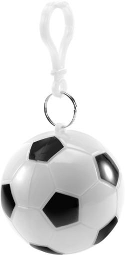 Relatiegeschenk Voetbal met poncho