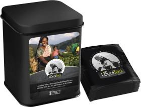 Relatiegeschenk LoyalTea® geschenkblik met 12 foliezakjes