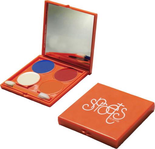 Relatiegeschenk Schminkset Oranje bedrukken