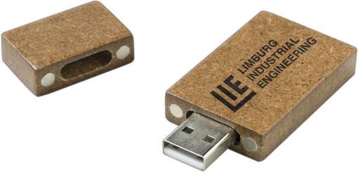 Relatiegeschenk USB stick Paper bedrukken
