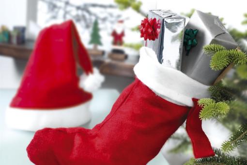 Relatiegeschenk Kerstsok