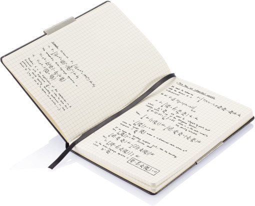 Relatiegeschenk Notitieboek hardcover bedrukken