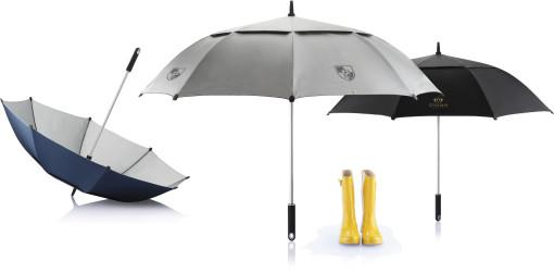 Relatiegeschenk Stormparaplu Hurricane bedrukken