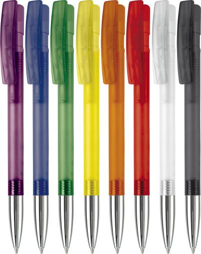 Relatiegeschenk Pen Nash Metal Frosty bedrukken