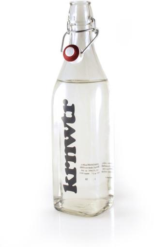 Relatiegeschenk Beugelfles KRNWTR 1 liter bedrukken