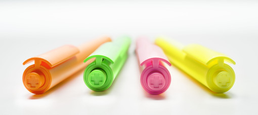 Relatiegeschenk Chalk pen Fluo bedrukken