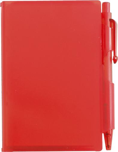 Relatiegeschenk Notitieboekje Compact met balpen bedrukken