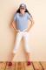 Relatiegeschenk Polo Gildan Double Pique for Kids bedrukken