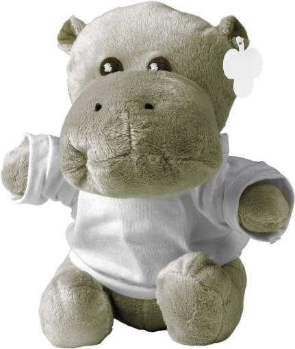 Relatiegeschenk Knuffel nijlpaard Neeltje bedrukken