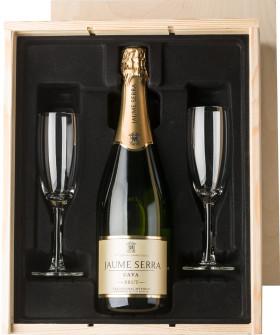 Relatiegeschenk Champagneset
